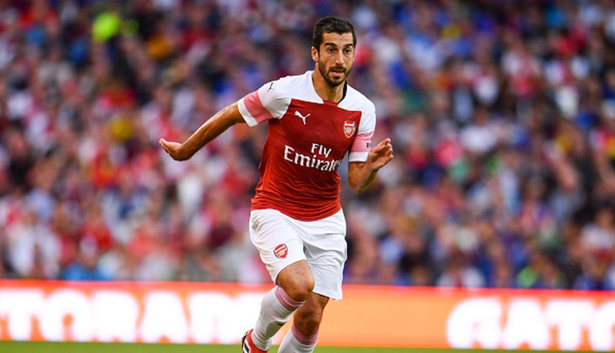 Henrikh Mkhitaryan. (Getty Images)