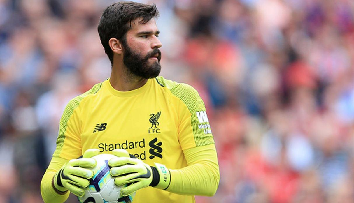 Alisson Becker. (Getty Images)