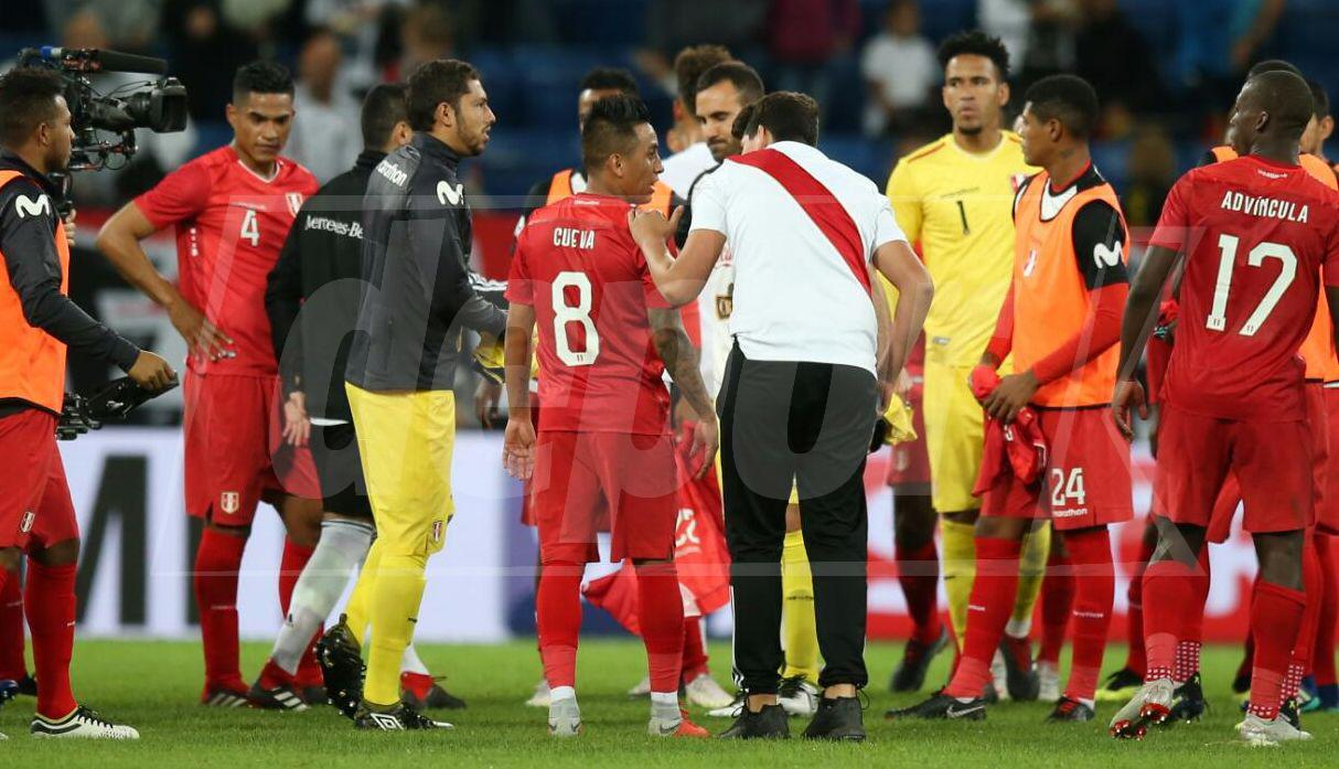 Perú vs. Alemania.