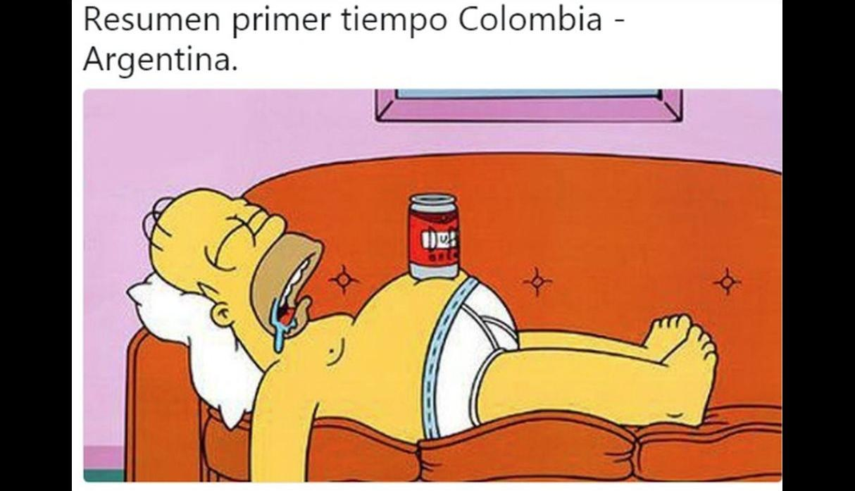 Colombia vs. Argentina