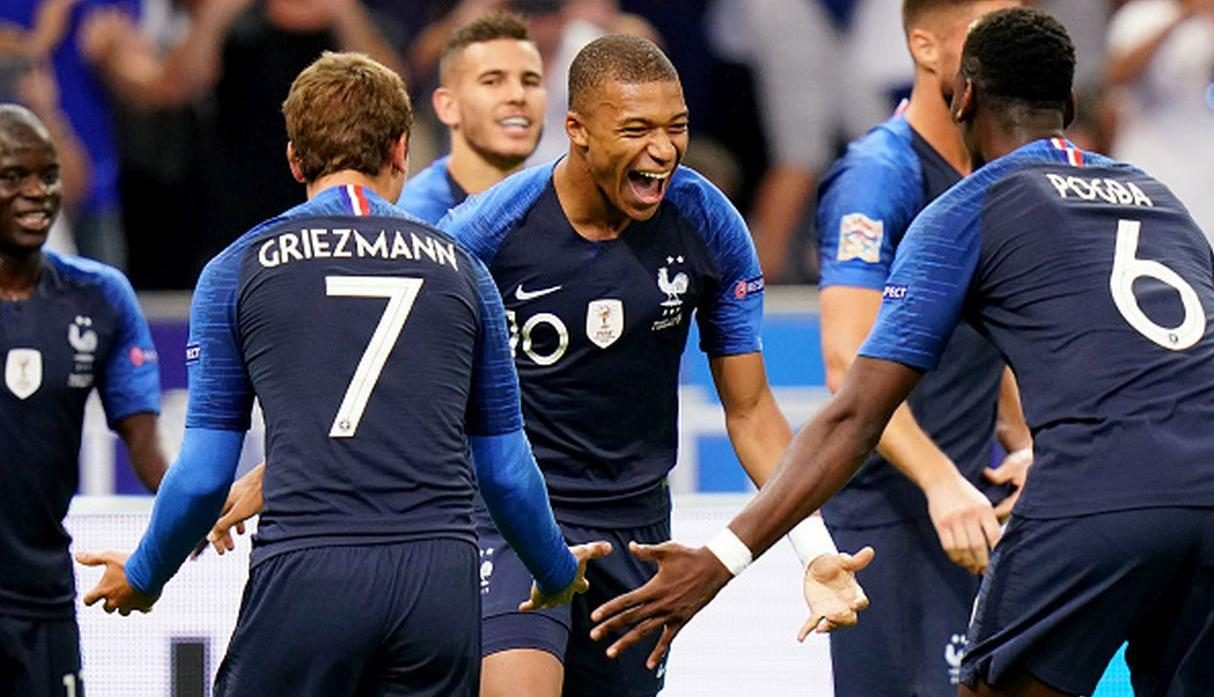 2. Francia | Puntos: 1729. (Getty Images)