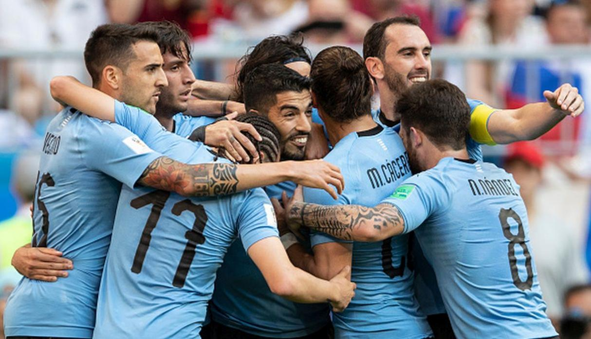 5. Uruguay | Puntos: 1632. (Getty Images)
