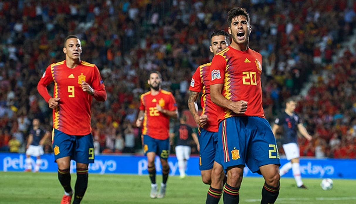 9. España | Puntos: 1597. (Getty Images)