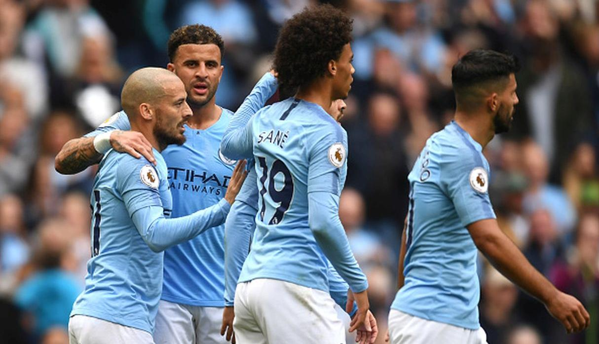 Manchester City vs. Olympique Lyon / Grupo F. (Getty Images)
