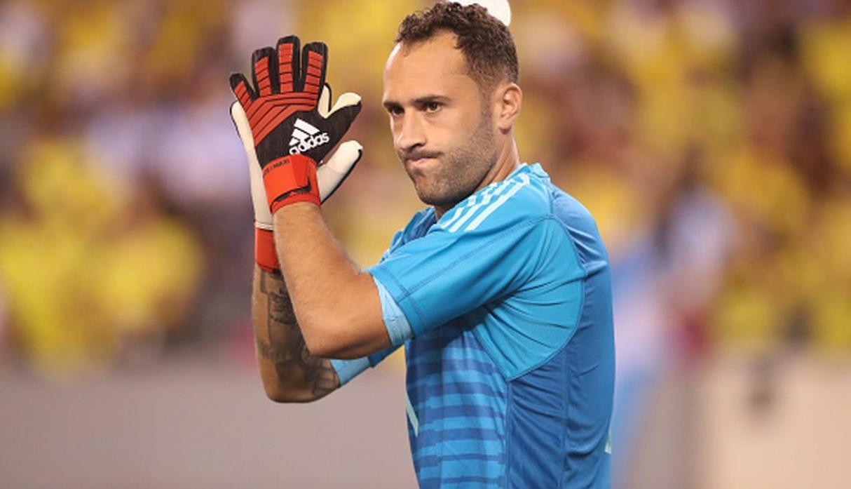 Jugador: David Ospina / Club: Napoli. (Getty)