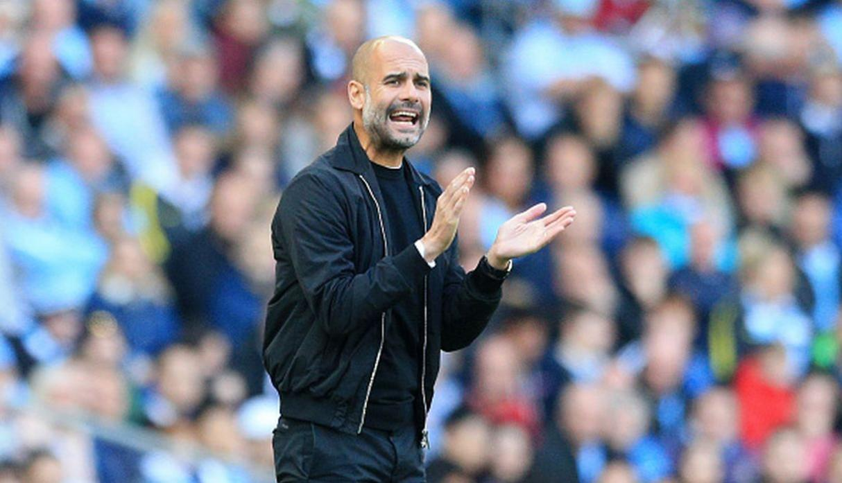 Pep Guardiola. (Getty Images)