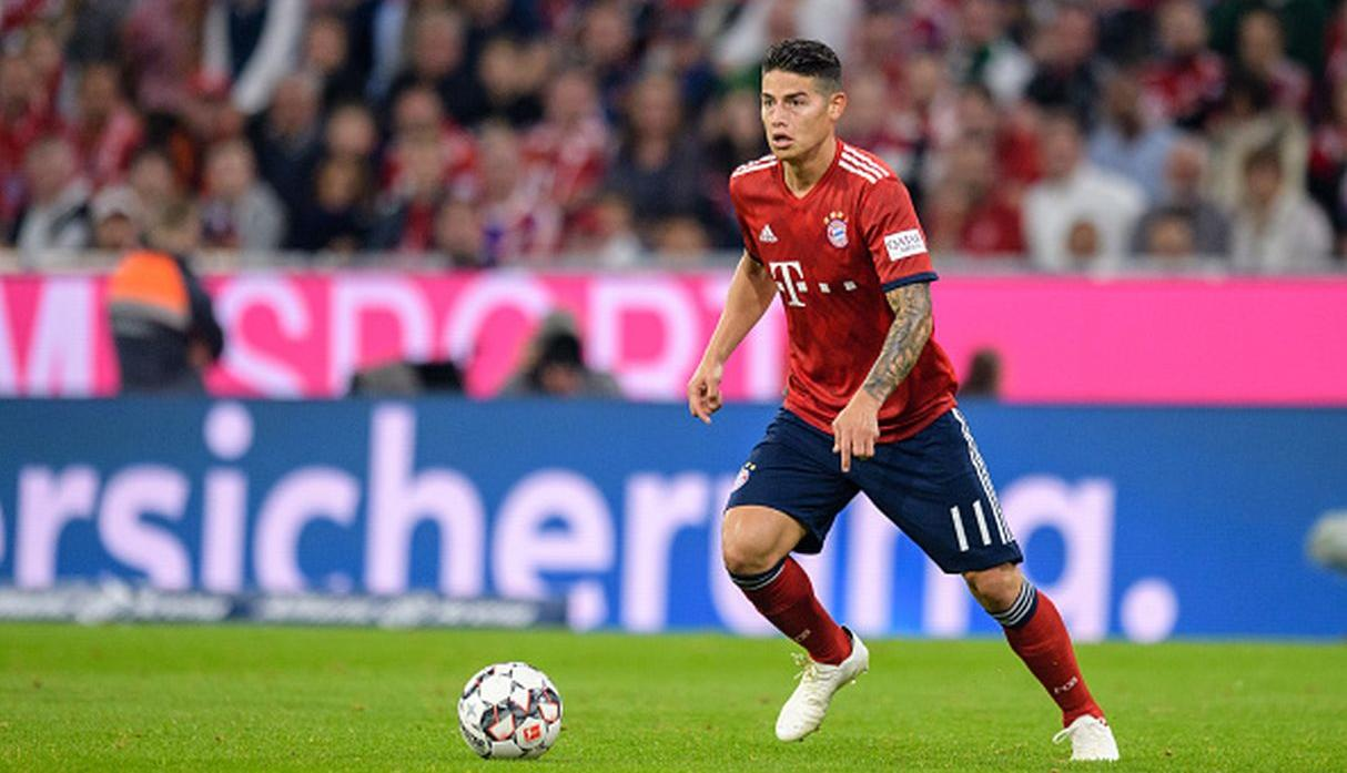 James Rodriguez. (Getty Images)
