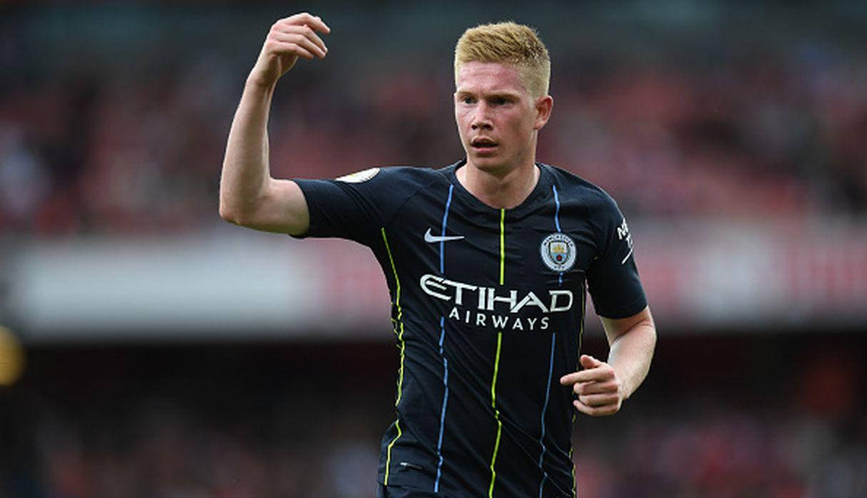 Kevin De Bruyne. (Getty Images)