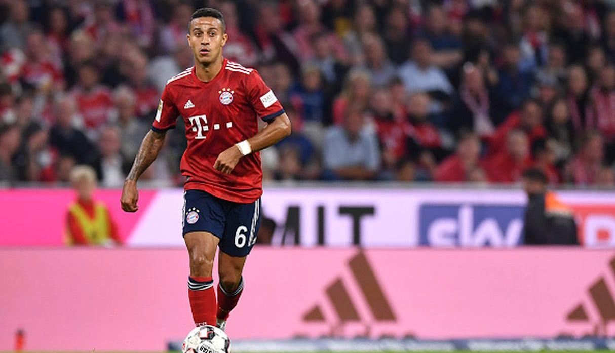 Thiago Alcantara. (Getty Images)