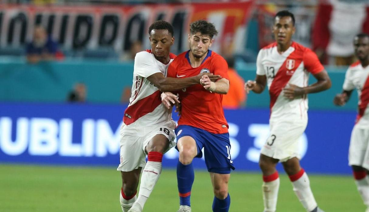 Perú vs. Chile: la bicolor goleó a Chile