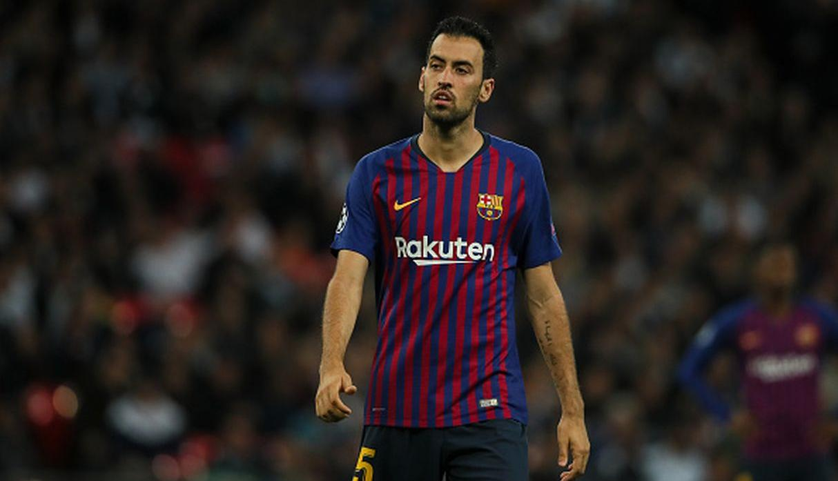 Sergio Busquets. (Getty Images)