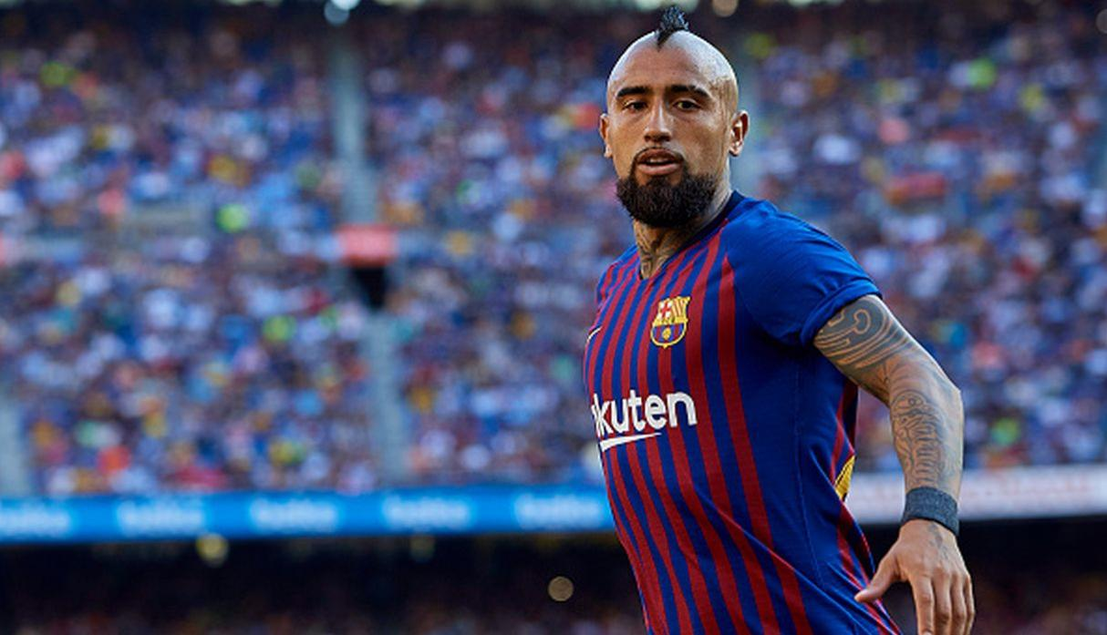Arturo Vidal | Barcelona. (Getty Images)