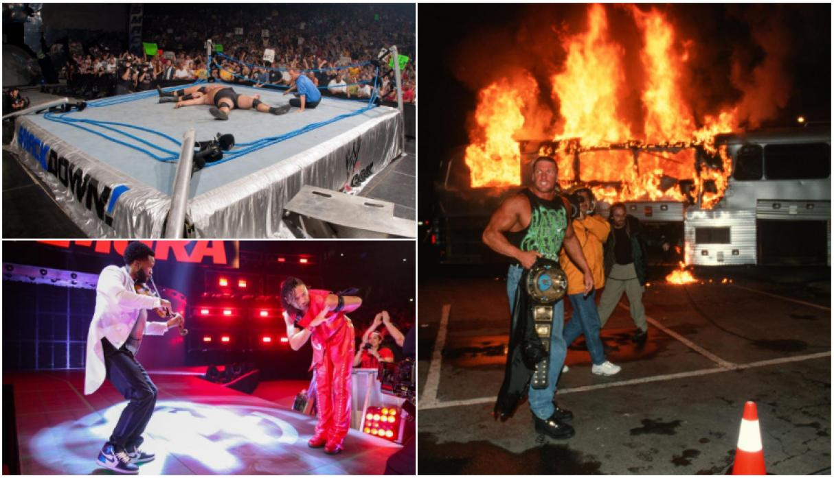 The Brothers of Destruction mandaron terrible mensaje a Shawn Michaels — WWE RAW