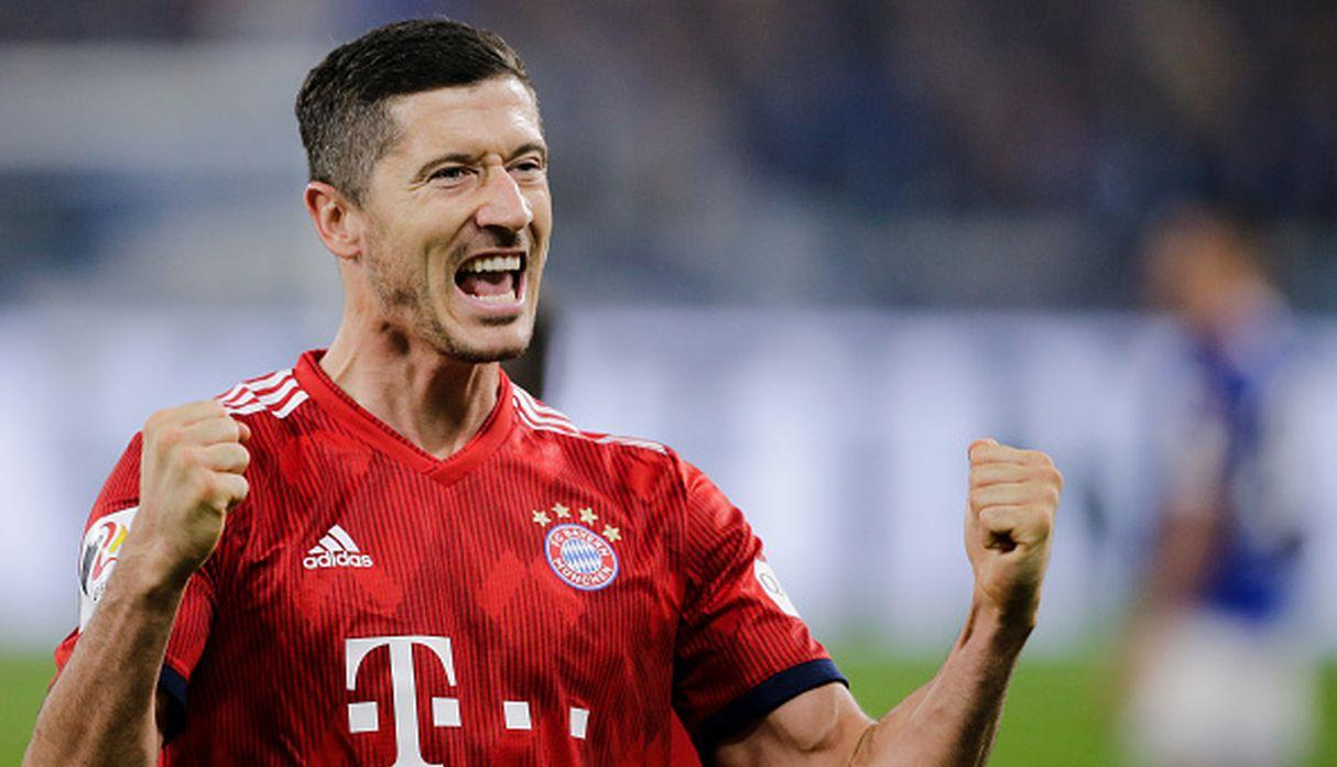 Robert Lewandowski. (Getty Images)