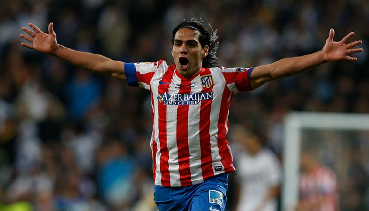 Radamel Falcao | Atlético de Madrid. (Getty Images)