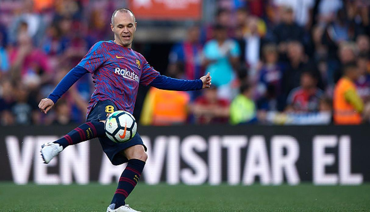 Andrés Iniesta. (Getty Images)