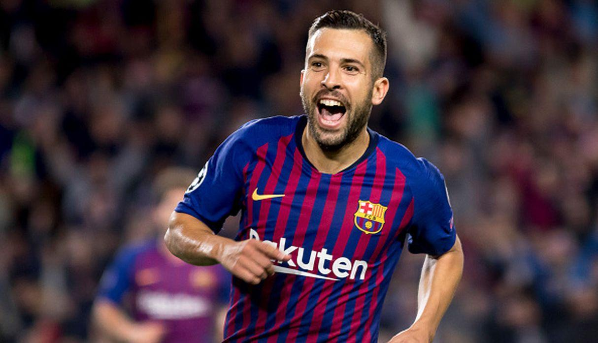 Jordi Alba. (Getty Images)
