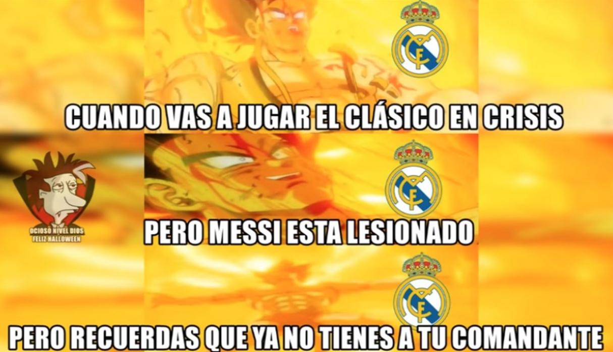 Barcelona Vs Real Madrid Los Divertidos E Hilarantes Memes Por El