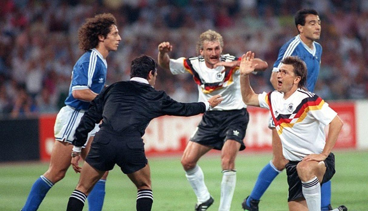 Argentina vs. Alemania | final del Mundial 1990. (Getty Images)
