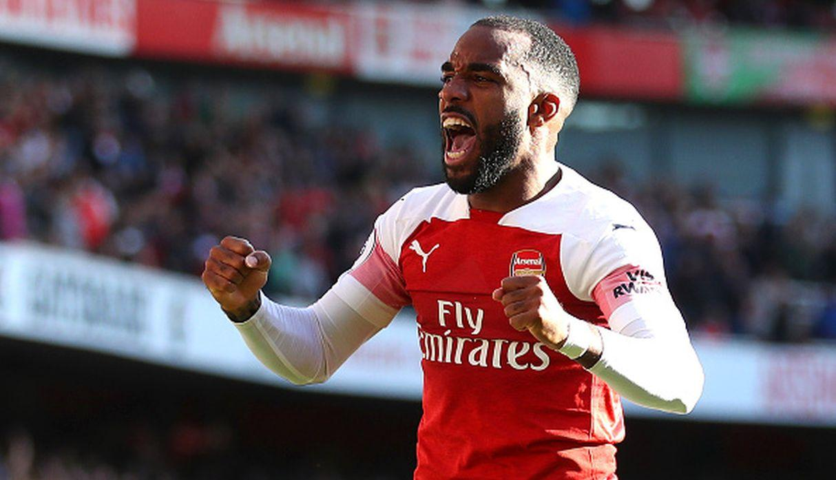 Alexandre Lacazette / 5 goles. (Getty Images)
