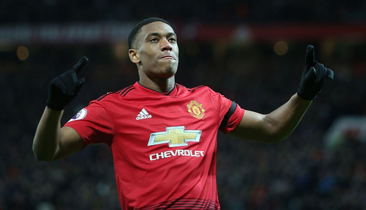 Anthony Martial / 6 goles. (Getty Images)