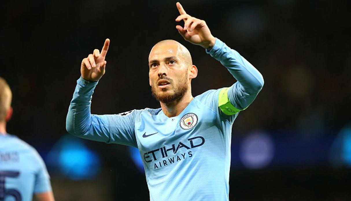 David Silva / 4 goles. (Getty Images)