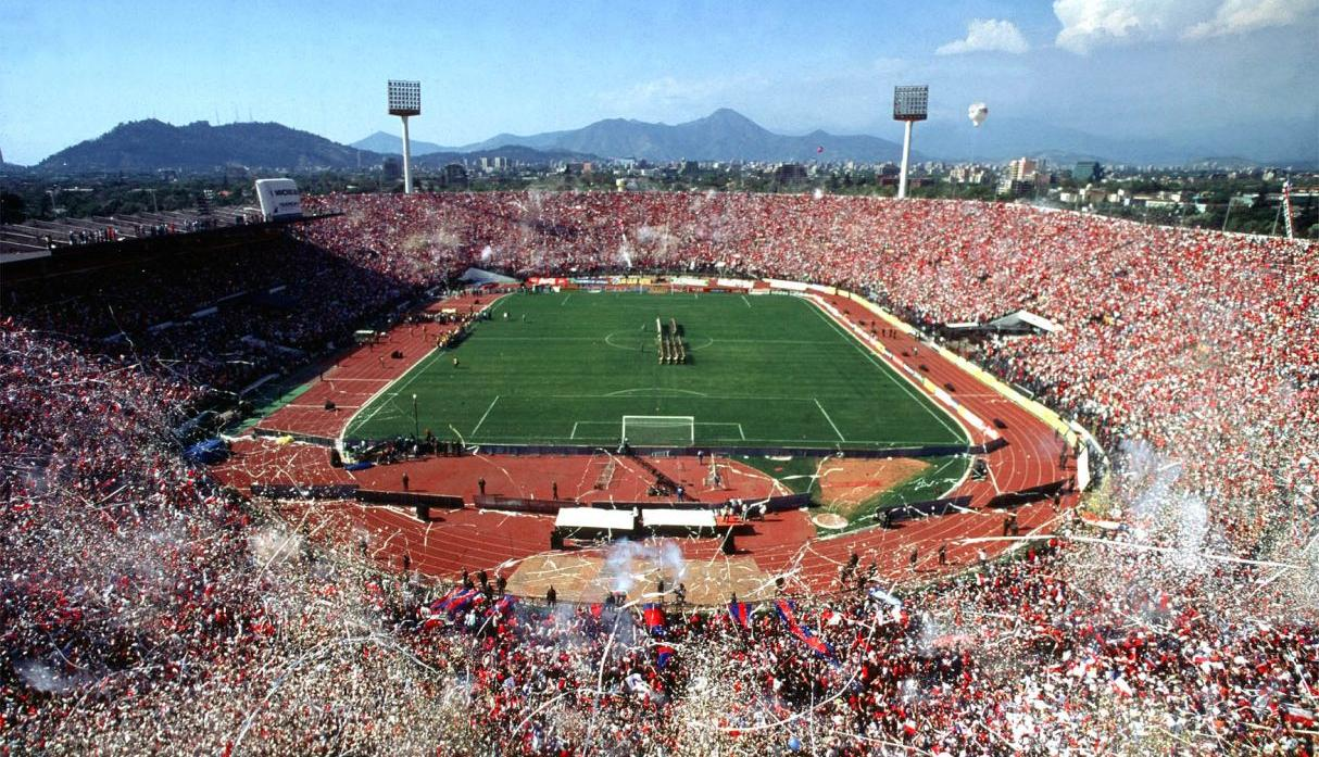 Estadio: Nacional de Chile / Capacidad: 48,665 / Club: Chile. (USI)
