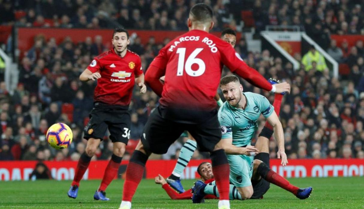 93cd9a22a89ed Manchester United vs. Arsenal  ver goles