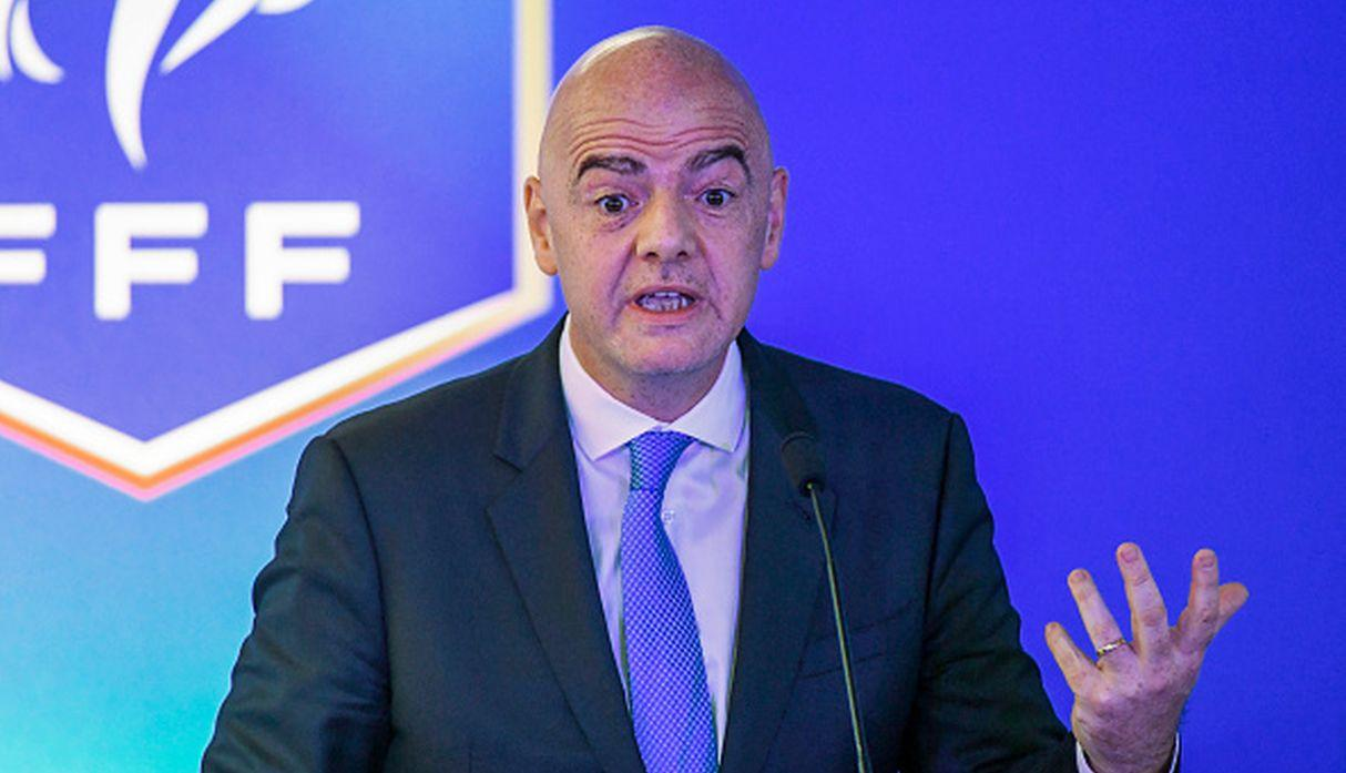 Gianni Infantino. (Getty Images)