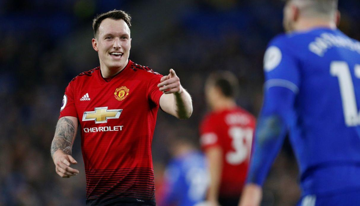 EQUIPO B | Jugador: Jones | Club: Manchester United (Agencias)