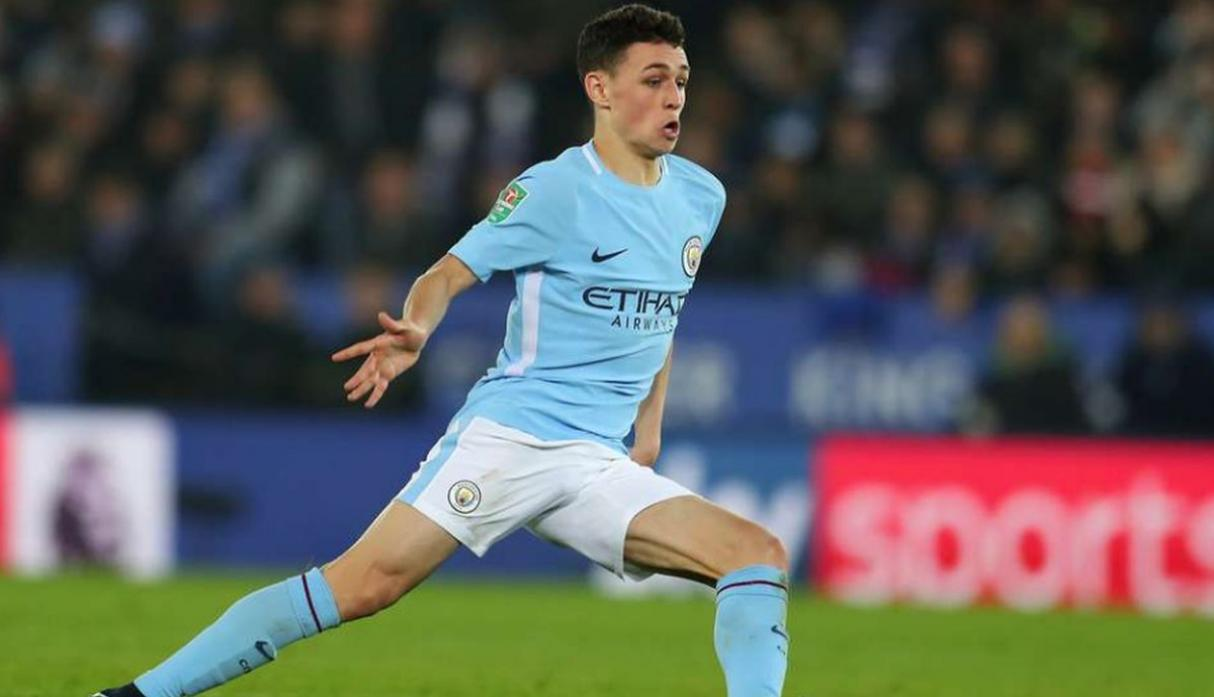 Phil Foden. (Getty Images)