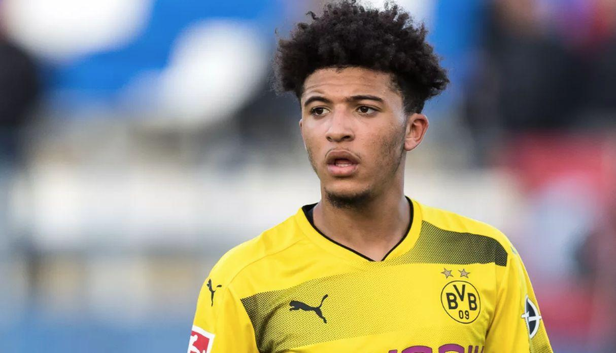 Jadon Sancho. (Getty Images)