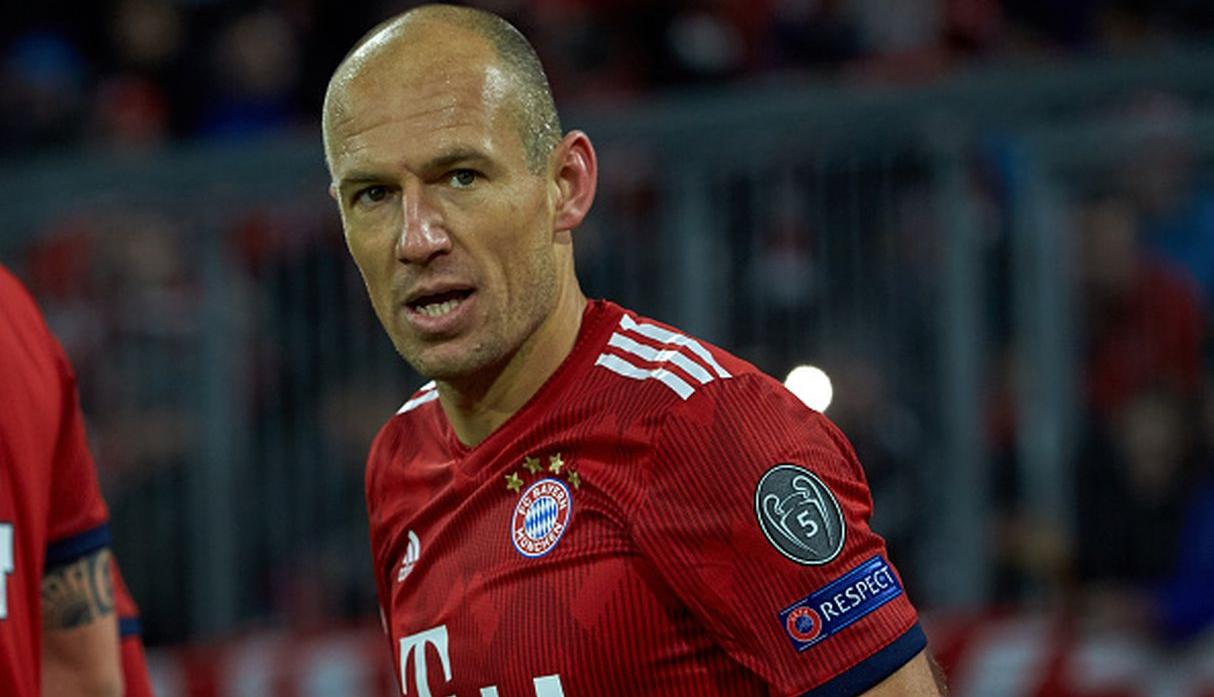 Arjen Robben. (Getty Images)