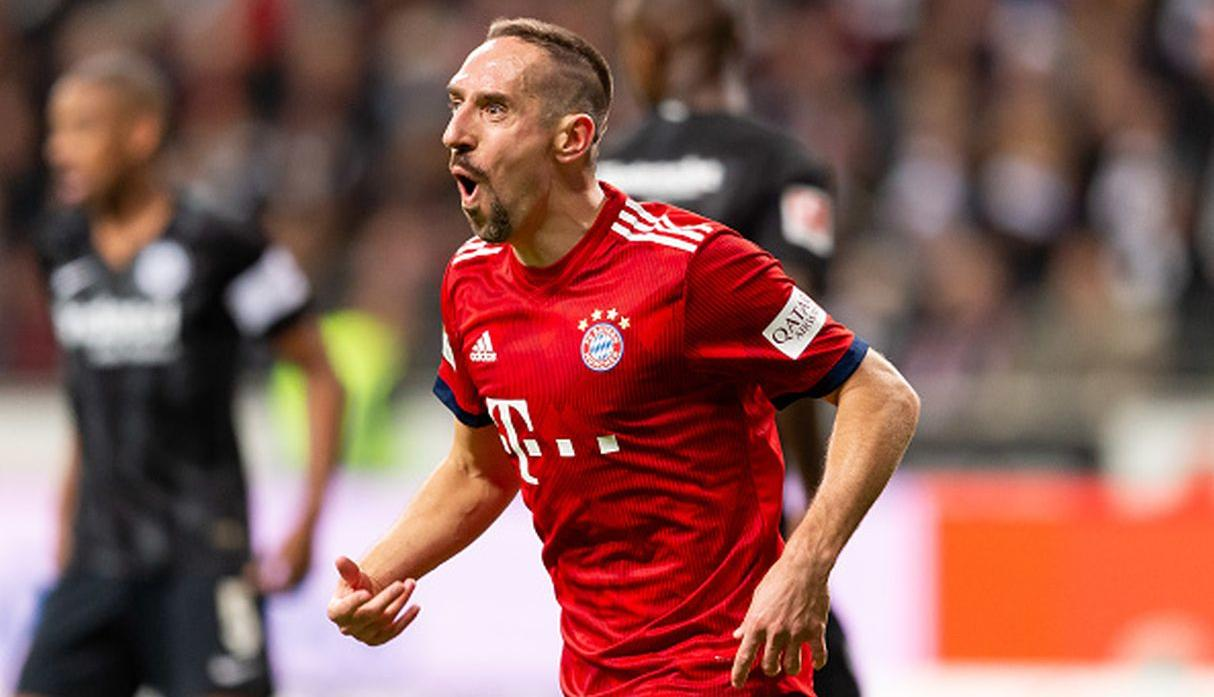 Frank Ribéry. (Getty Images)