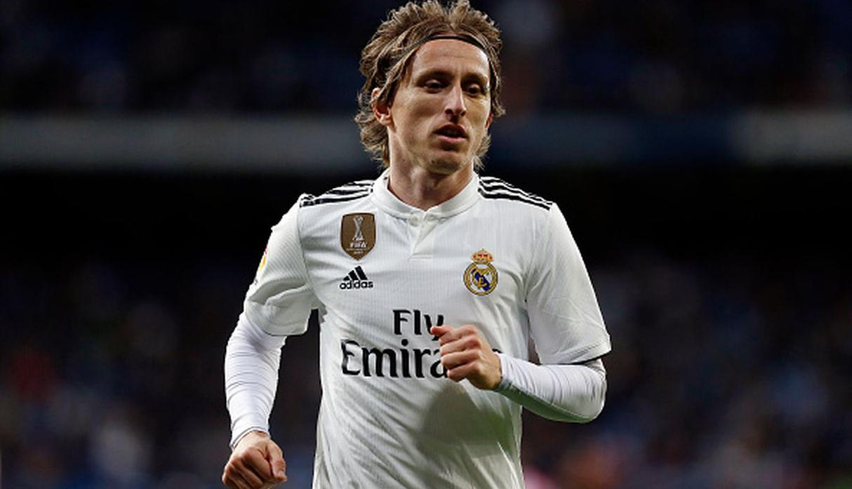 REAL MADRID | Modric. (Getty)