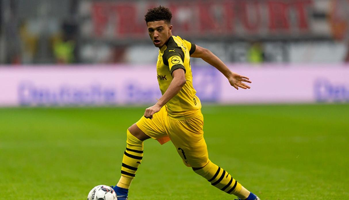 Jadon Sancho (ENG, 18 - Dortmund) - (Foto: Getty)