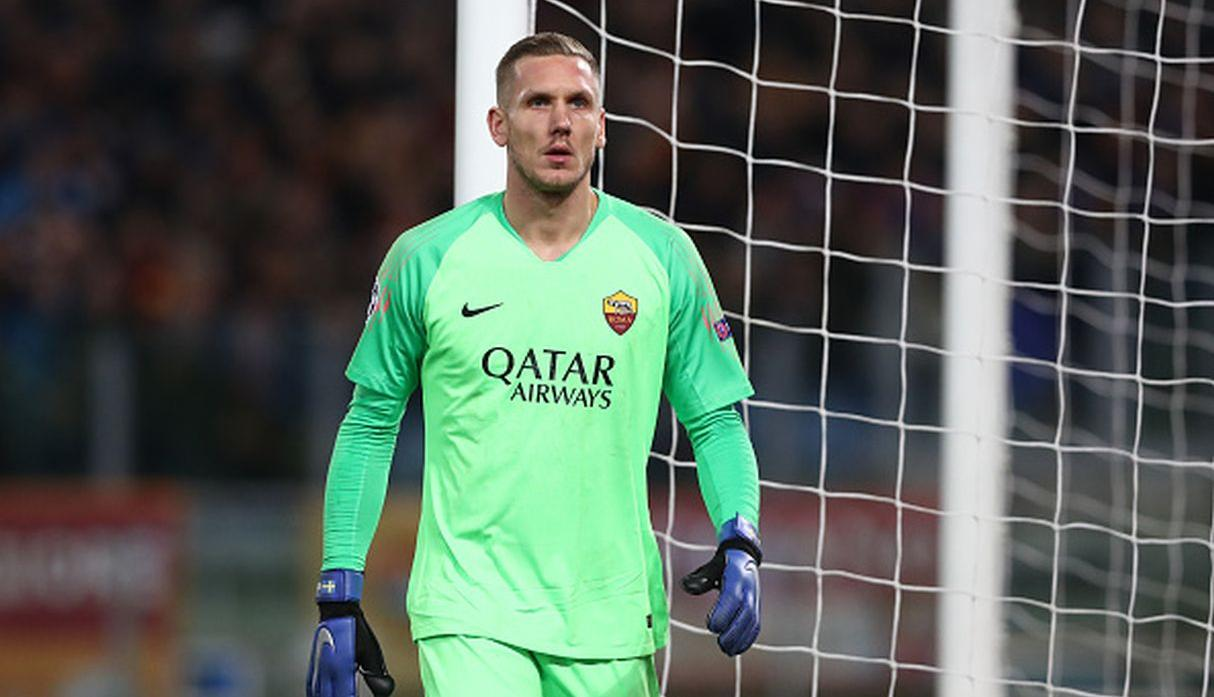 Robin Olsen | AS Roma. (Getty Images)