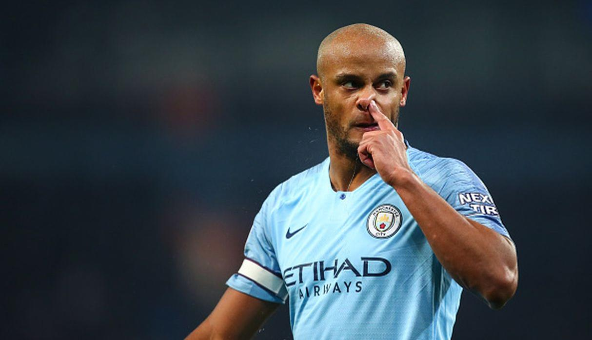 Vincent Kompany | Manchester City. (Getty Images)