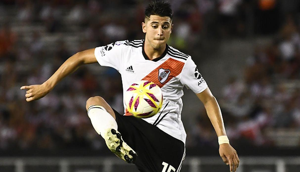 Jugador: Exequiel Palacios | Club: River Plate. (Getty)
