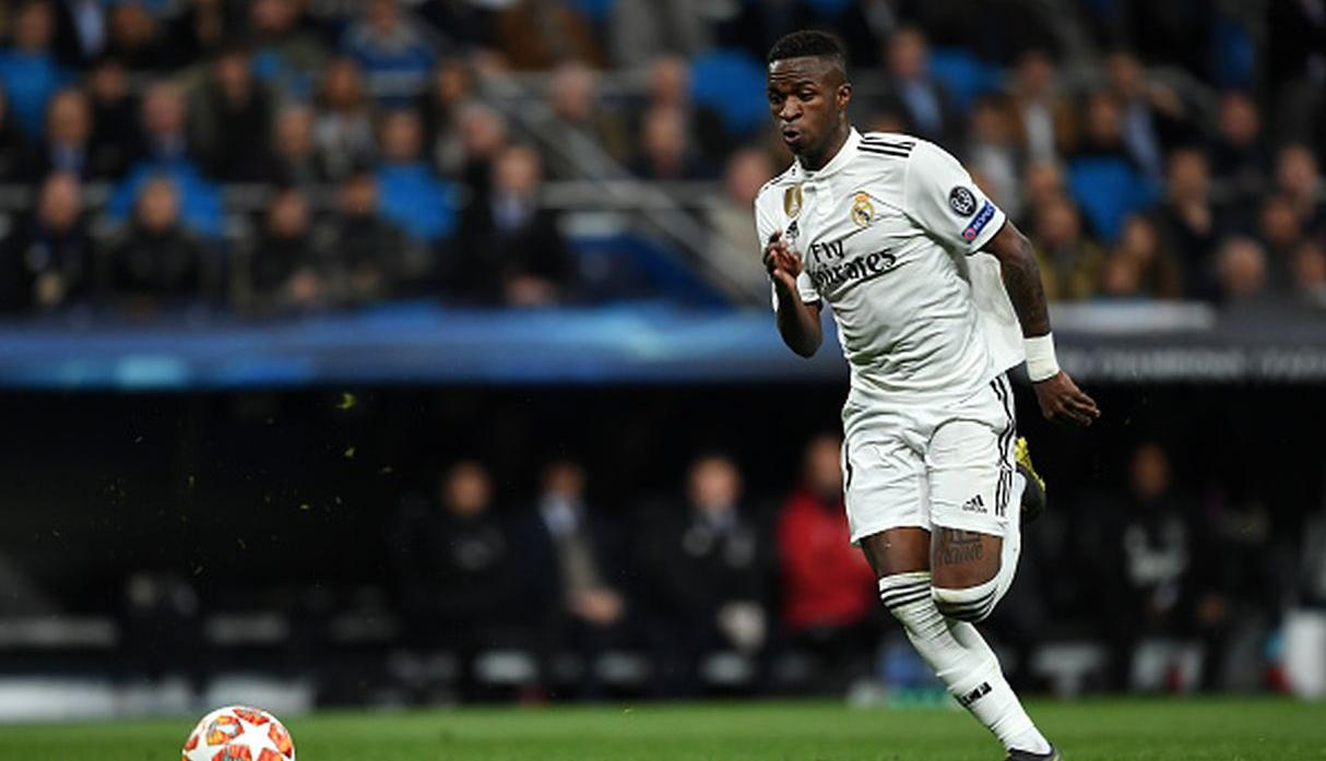 Jugador: Vinicius Junior | Club: Real Madrid | Valor: 70 millones de euros. (Getty)