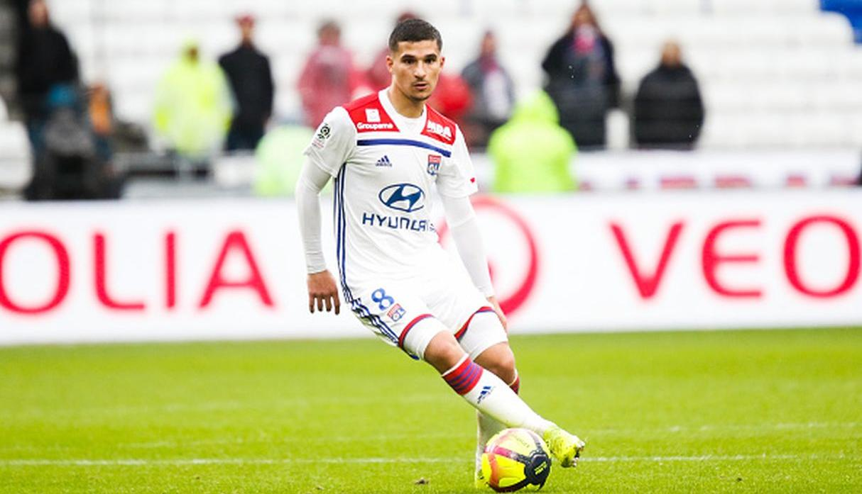 Jugador: Housem Aouar | Club: Lyon | Valor: 40 millones de euros. (Getty)