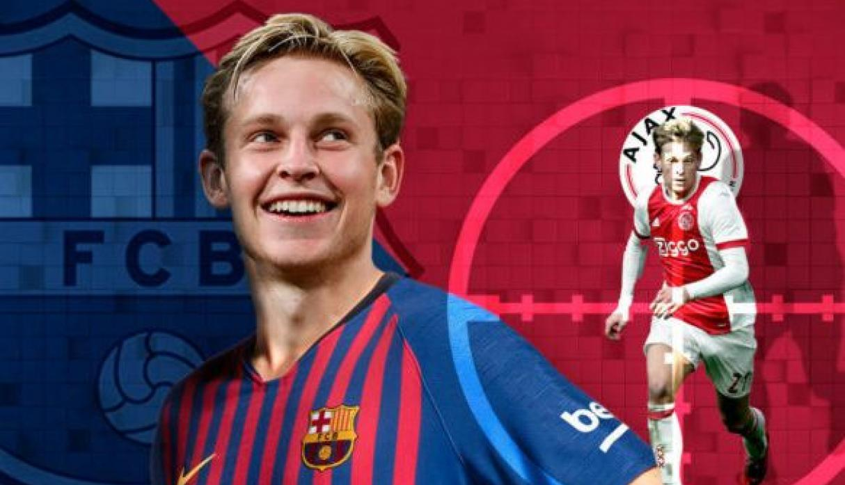Frenkie De Jong (Ajax - Barcelona. (Getty)