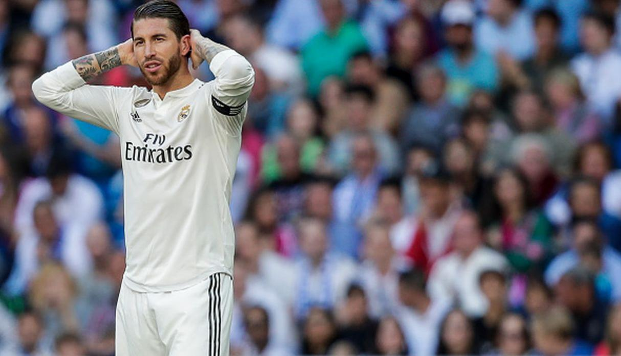 Sergio Ramos | 23 millones de euros. (Getty Images)