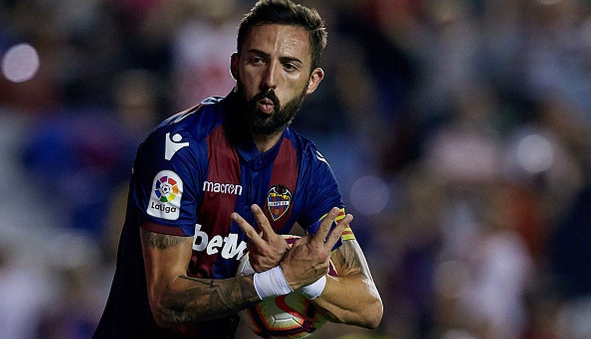 Morales | Levante | 9 goles. (Getty Images)