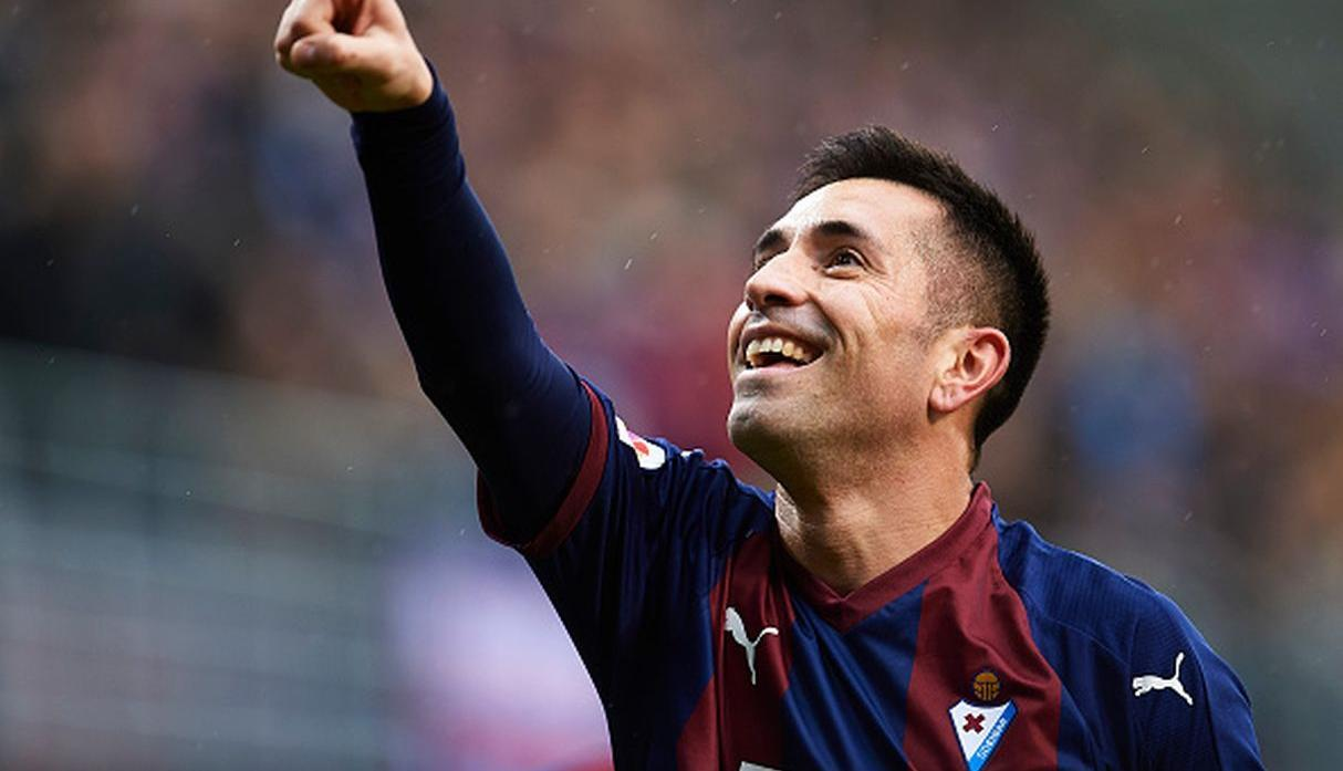 Charles | Eibar | 13 goles. (Getty Images)