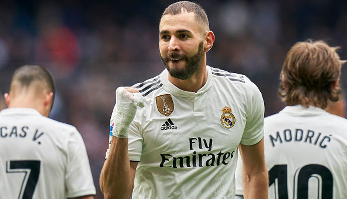 Karim Benzema | Real Madrid | 21 goles. (Getty Images)