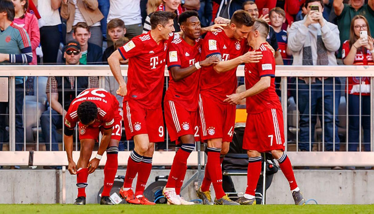 Bayern Munich. (Getty Images)