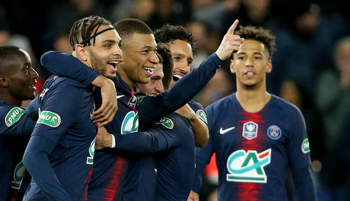 Paris Saint-Germain. (Getty Images)