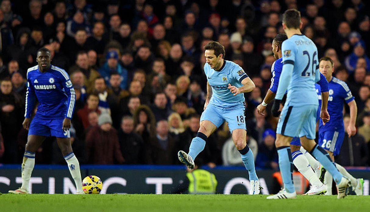 Lampard ante Chelsea. (Getty)