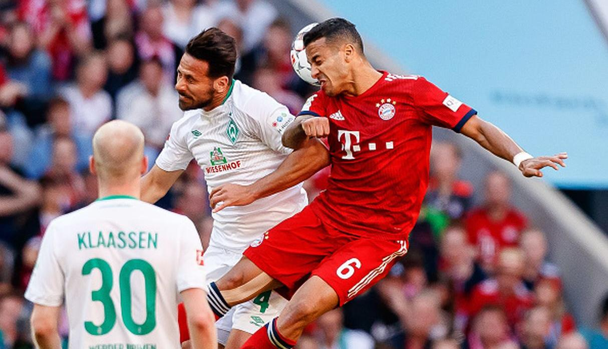 Pizarro ante Bayern. (Getty)